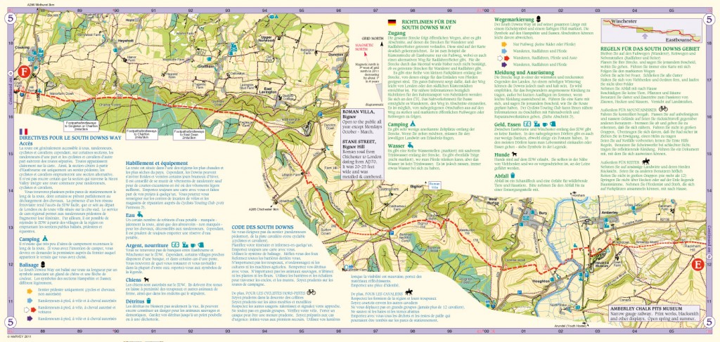South Downs Way Map Panel 5