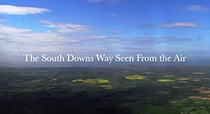 South Downs from the Air