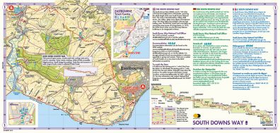 South Downs Way Tours Map